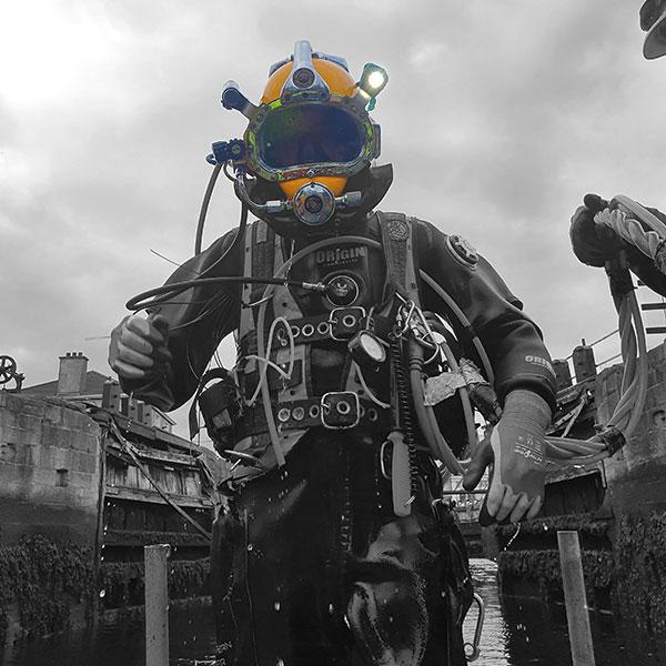 Diver Coloured Helmet